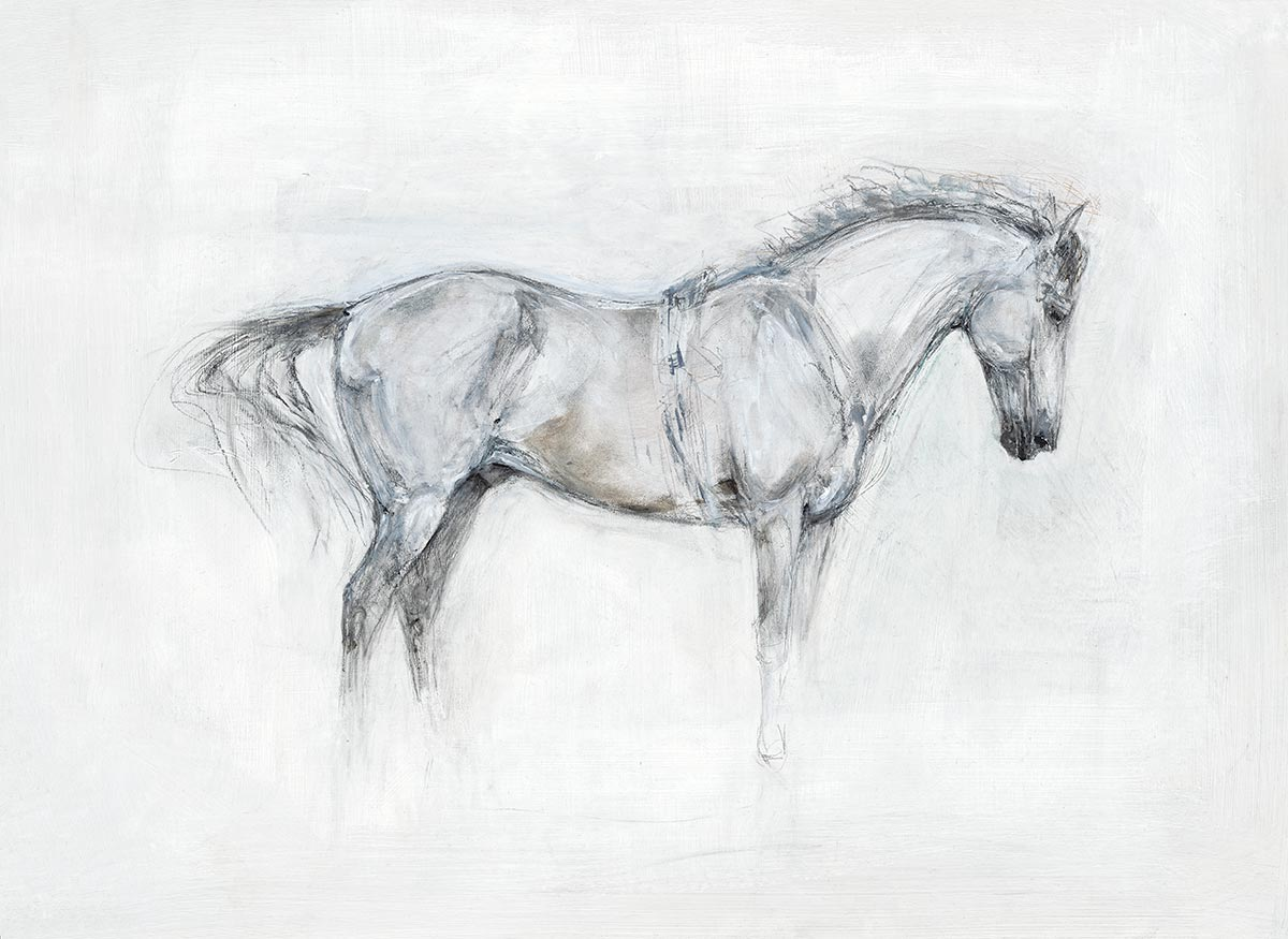 Standing Horse (White) (2016)
