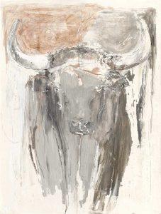 Bull Panel B (standing)