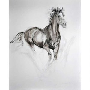 Galloping Horse - canvas