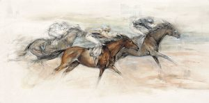 Three Horses Racing