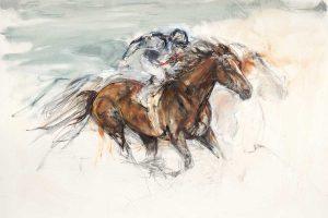Racehorse art