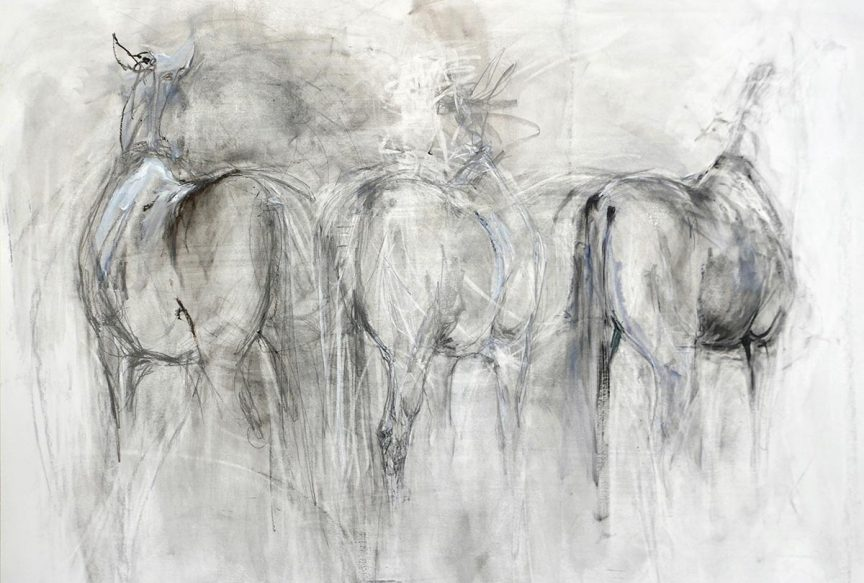 Big Sketch 3 Horses